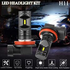 2x Csp H8 H9 H11 Fog Lamp Headlight Bright 1860 Chips Xenon White 6000K 100W