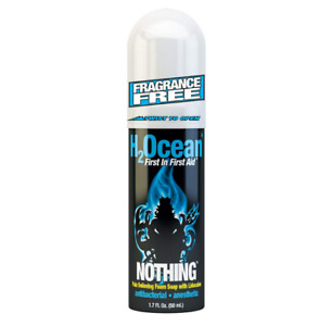 H2Ocean Nothing Foam Soap Numbing Tattoo Wash Aftercare Pain Relief EXP. 03/2019