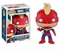 Funko Pop Vinyl Figure Marvel Captain Marvel Masked # 154 Vinyl Bobble Head