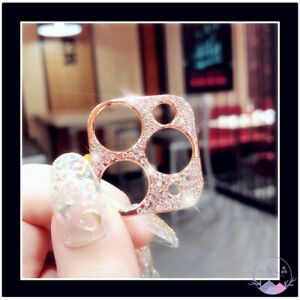 Luxury Diamond iPhone 12 Models Camera Protector Rhinestone iPhone 11 Lens Cover