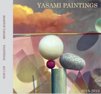 SIGNED YASAMI Painting CATALOG HARD COVER 22 pages color 2019 8x8 only 3 left
