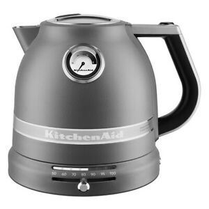 KitchenAid Artisan Matt Imperial Grey 1.5L Kettle