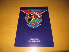 MEAT LOAF - 1983 WORLD TOUR PROGRAMME    (PROMO)
