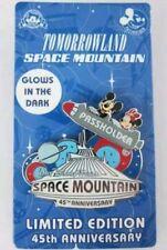 Disneyworld Space Mountain 45th Anniversary Passholder Disney Pin Tommorowland