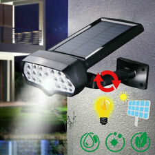 LED Sensor Solar Light Spot Wall Street Yard Outdoor Garden Lamp Waterproof