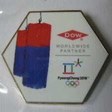 2018 Pyeongchang Winter Olympic Dow Worldwide Partner Pin