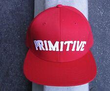 PRIMITIVE APPAREL PAUL RODRIGUEZ MENS HAT RED/WHITE SNAPBACK PRIM-178