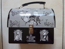 Disney Nightmare Before Christmas Dome Top Metal Lunch Box