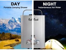 RedRock 6L Gas Hot Water Heater Portable Shower Camping LPG Outdoor Instant 4WD