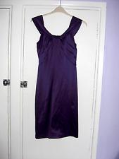 LADIES WALLIS LOVELY PURPLE DRESS  SIZE 8