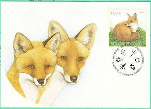 Fox Brethren Wildlife Red Fox Finland Mint Maxi FDC 2004