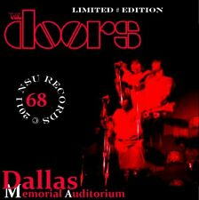 THE DOORS LIVE IN DALLAS, TEXAS  1968  JULY 9th  LIMITED # CD