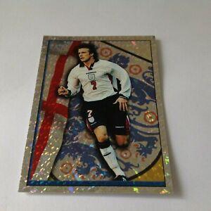 Merlin Official England 98 World Cup David Beckham England Foil Sticker Shiny 87
