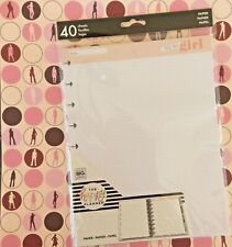 Happy Planner Classic Daily Filler Paper You Go Girl Dot Grid Bullet Journaling