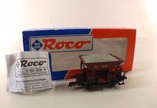 Roco A n° 46130 wagon trémie ballast TALBOT neuf en boite mint 1/87 HO