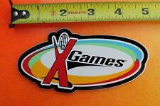X-GAMES Rainbow Skateboard Rollerblade Blades Skates 90's INLINE Skating STICKER
