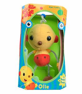 Vintagr 1999 NEW! Rolie Polie Olie Applause Bendable Poseable Plush Toy