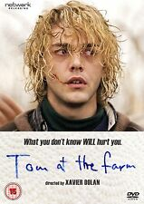 TOM AT THE FARM. Xavier Dolan, Pierre-Yves Cardinal. Gay interest. New DVD.