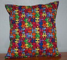 Autism Pillow HANDMADE Autism Awareness Pillow Made in USA