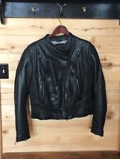 Harley Davidson FXRG Women's Motorcycle Jacket XL- Black Leather, Excellent