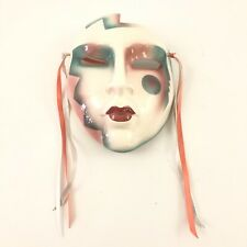 Clay Art Decorative Ceramic Southwest Influenced Wall Mask 1992