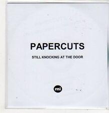 (FL391) Papercuts, Still Knocking at the Door - 2014 DJ CD