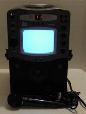 The Singing Machine STVG-512 Karaoke Machine w/ Built In Monitor and Microphone