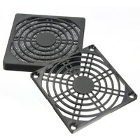 Dustproof 80Mm Case Fan Dust Filter Guard Grill Protector Cover Pc Computer R