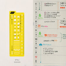 Hobonichi Stencil Schedule