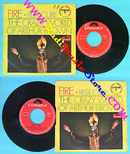 LP 45 7'' THE CRAZY WORLD OF ARTHUR BROWN Fire! Rest cure 1968 no cd mc dvd *