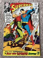 Superman #205 (1968) DC Comics!!  Silver Age Beauty!!!!