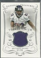 TORREY SMITH GAME WORN JERSEY #/99 2014 NATIONAL TREASURES