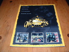 Rod Woodson's All-Star Grille Menu and Official Pittsburgh Sports Guide Steelers