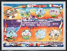 SELLOS DEPORTES FUTBOL. MEXICO 86 HB 32 1986 6v.