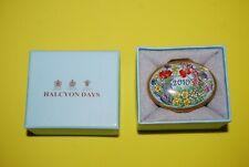 Halcyon Days 2010 A Year To Remember Keepsake / Trinket Enamel Box