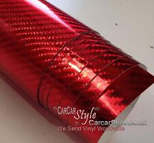 4D GLOSS Carbon Fibre Vinyl Wrap Textured 【1.52m wide X running meter】AIR Free