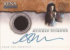 "Xena Beauty & Brawn - AC3 Meighan Desmond as ""Discord"" Autograph Costume Card"