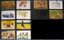 S005) Berlin 2000 11er Phone Cards Motif Set with Sportmotiven Unused/Mint