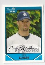 (24) CORY KLUBER 2007 Bowman Draft Rookie Lot of 24