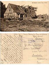 CPA Von granaten zestorte Haus in GORLICE. POLAND (370817)