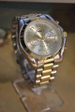 Women Fashion Geneva Luxury Style Quartz  Sport Wrist Watch MK Style