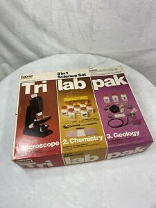 Gabriel Ideal Tri Lab Pak 3 in 1 Science Set - Great Condition