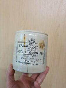 """Frank Cooper's """"Oxford"""" Seville Marmalade Jar Pot ~ 2lb Vintage."""