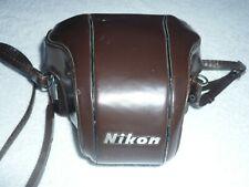 Housse en cuir pour appareil NIKON F