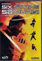 Dvd **SIX.STRING SAMURAI** con Jeffrey Falcon nuovo 1998