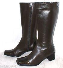 BRUNELLA ~ hochwertige Lederstiefel ~ braun Gr. 37,5 ~ weiches Leder