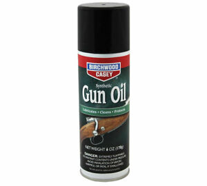 Birchwood Casey Metal Surface Protective Synthetic Gun Oil 6 Oz Aerosol 44135