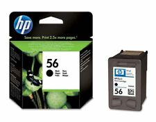 Genuine HP 56 Black ink cartridge (C6656A) - FREE UK DELIVERY - VAT included