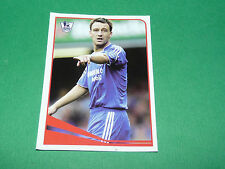 N°327 JOHN TERRY CHELSEA BLUES MERLIN PREMIER LEAGUE FOOTBALL 2007-2008 PANINI