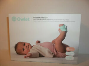 Used Owlet Smart Sock 3rd Gen Voice & Breathing Baby Monitor
